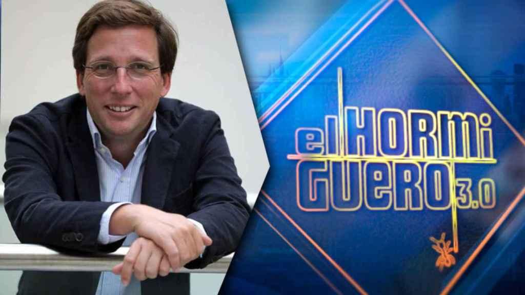 José Luis Martínez Almeida, alcalde de Madrid, estará este martes en 'El Hormiguero'.