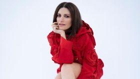 Laura Pausini en una imagen de sus redes sociales tras ganar el Globo de Oro.