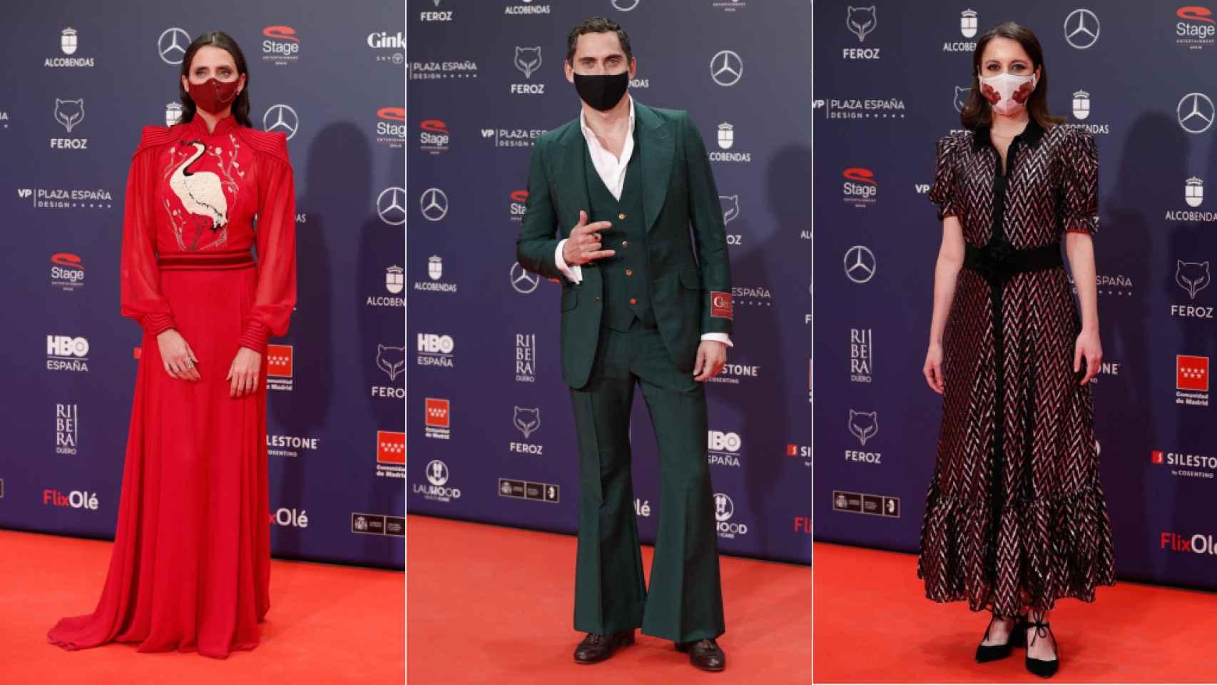 La alfombra roja de los Premios Feroz, en imágenes