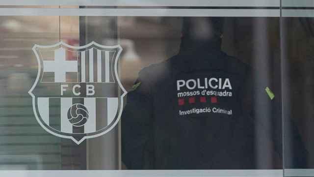 Registros en el Camp Nou por el 'Barçagate'