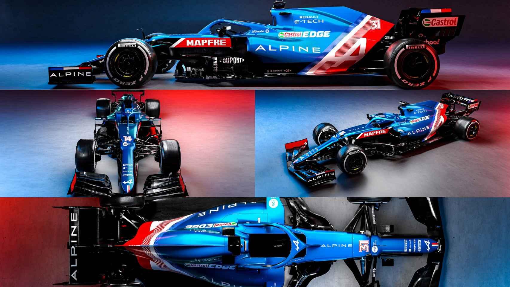 El Alpine A521 de Fernando Alonso