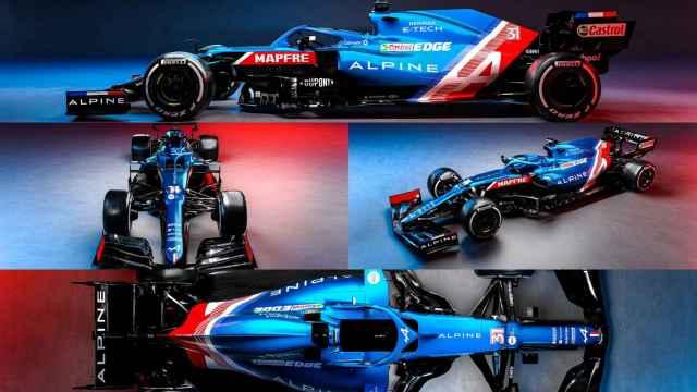 Los detalles del nuevo Alpine A521 de Fernando Alonso: color, alerones, publicidad...