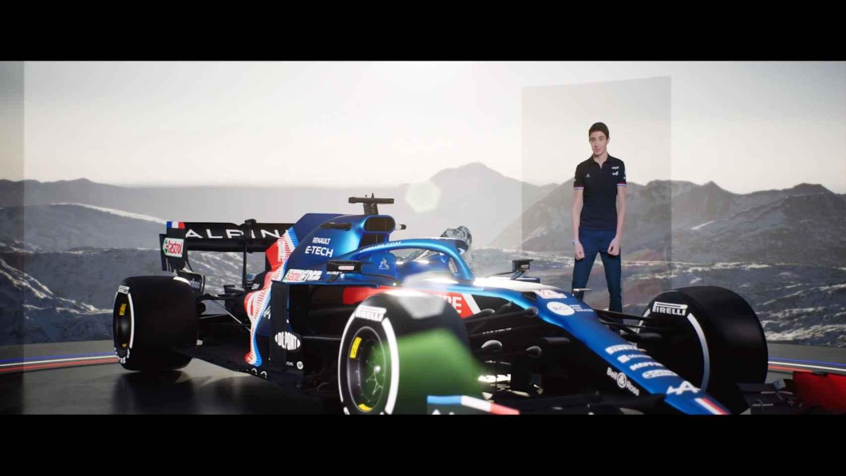 Así será el coche de Fernando Alonso en 2021: Alpine F1 presenta su monoplaza