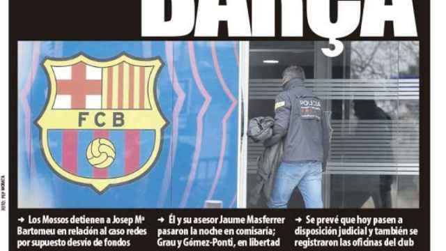 Portada Mundo Deportivo (02/03/21)