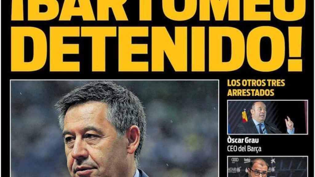 Portada Sport (02/03/21)