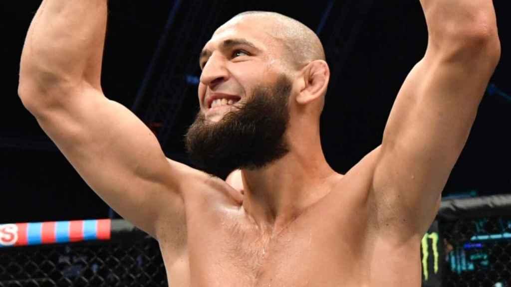 Khamzat Chimaev, luchador de la UFC