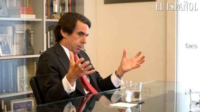 Aznar dice que jamás conoció la corrupción del PP