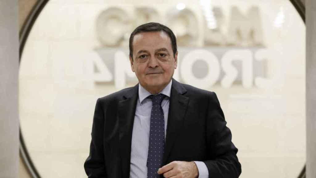 El presidente de la patronal murciana Croem, José María Albarracín.
