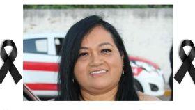 María Elena Ferral Hernández, periodista mexicana asesinada.