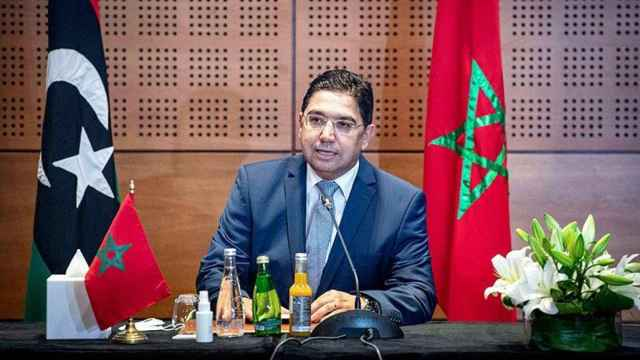 Nasser Bourita, el ministro de Exteriores de Marruecos.