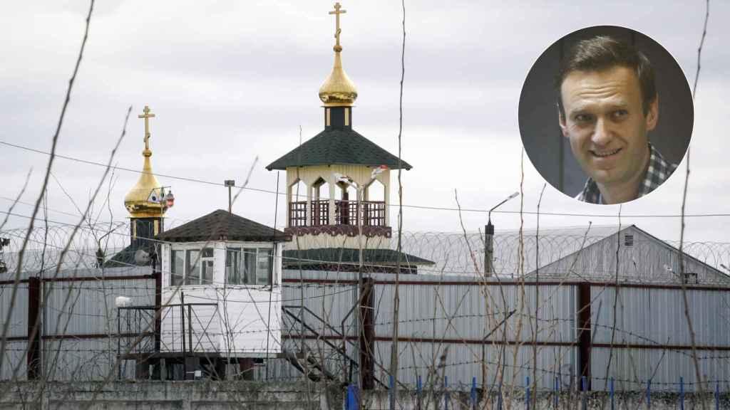 Imagen de la Colonia Penitenciaria Nº 2 y de Navalni, donde está encerrado el opositor ruso.