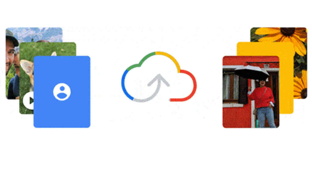 Google One allows us to save photos, videos, contacts and more