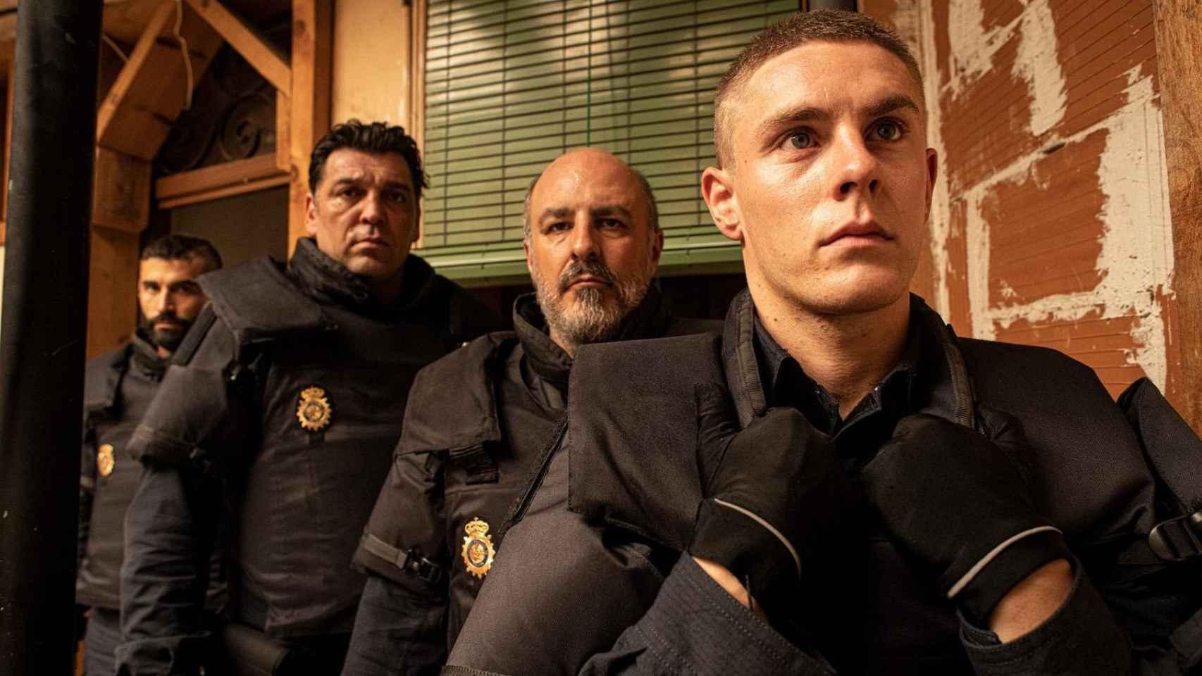 'Antidisturbios' se hace con tres premios Feroz.