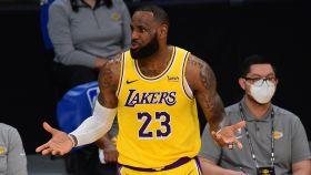 LeBron James, con Los Angeles Lakers
