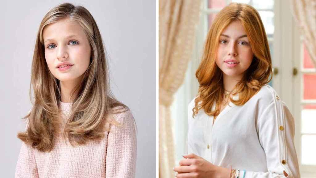 El estilo de Leonor y Alexia no es muy diferente a la hora de vestir, pero sus personalidades sí lo son.