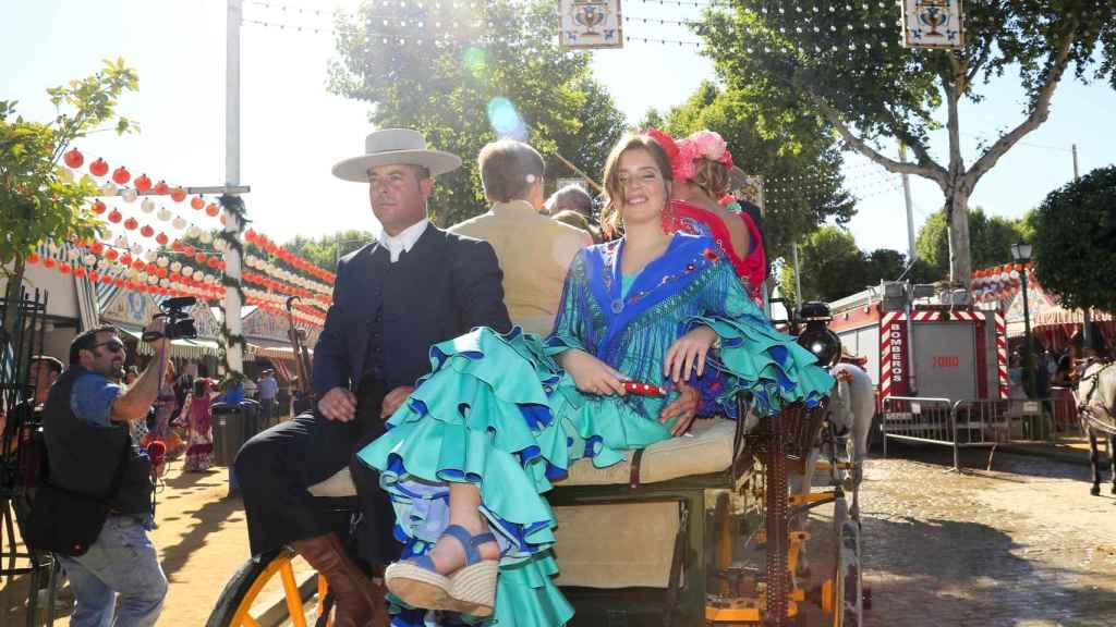La hija de Máxima de Holanda adora la Feria de Abril, como sus padres.