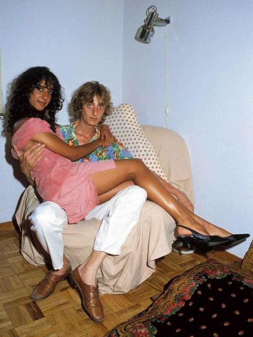 Enrique San Francisco y Rosario Flores vivieron juntos durante su romance.