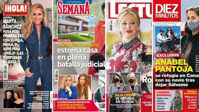 Kiosco rosa: Marta Sánchez posa por primera vez junto a su hija, Paula