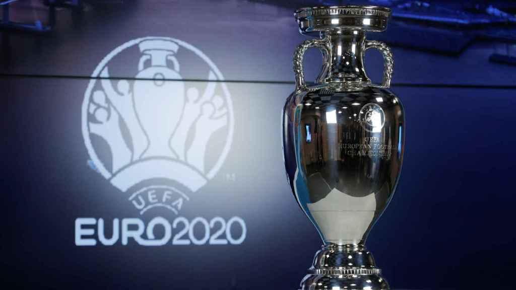 El trofeo de la Eurocopa 2020, que se celebrará en 2021