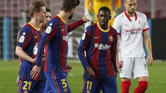 Las mejores fotos del Barcelona - Sevilla de la Copa del Rey