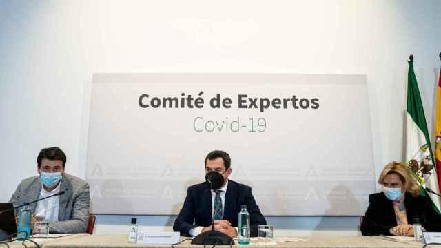 El presidente de la Junta, Juanma Moreno, preside el comité de expertos.