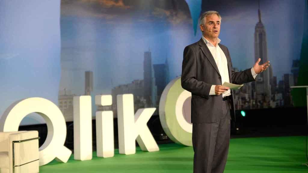 Rafael Quintana, director regional de Qlik en España y Portugal.