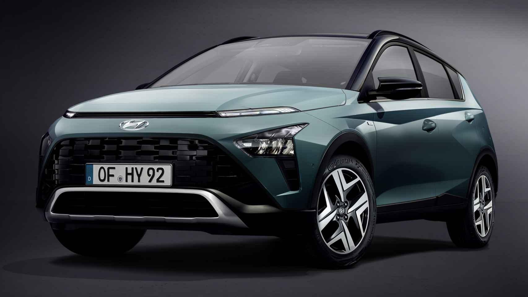 Así es el nuevo Hyundai Bayón que llega en 2021.