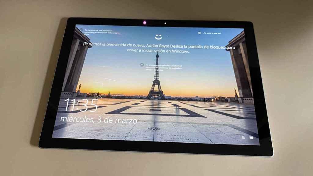 La Surface Pro 7+