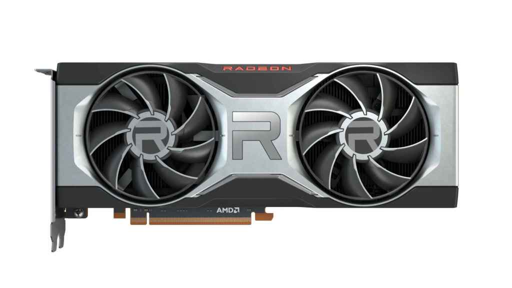 La nueva Radeon RX 6700 XT en su modelo de referencia de AMD