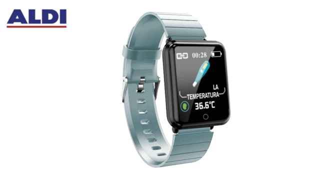 Aldi pondrá a la venta una pulsera inteligente por menos de 20 euros.