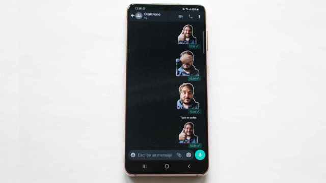 WhatsApp ya permite usar stickers de terceros.