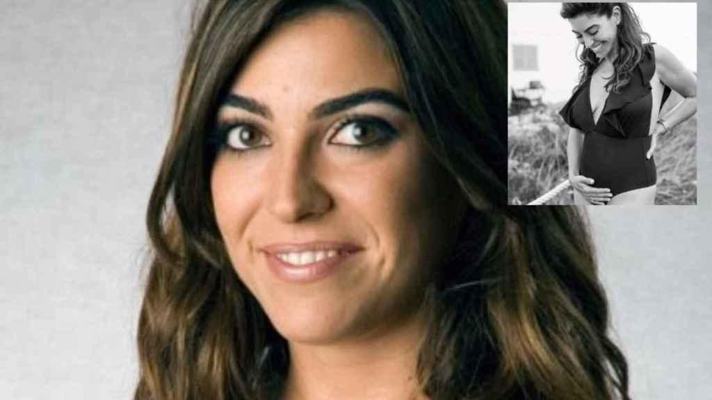 Melania Querol en un fotomontaje de JALEOS.