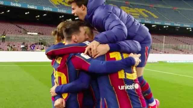 Las imágenes del mundo del deporte: la foto del banquillo del Barça que indigna en redes
