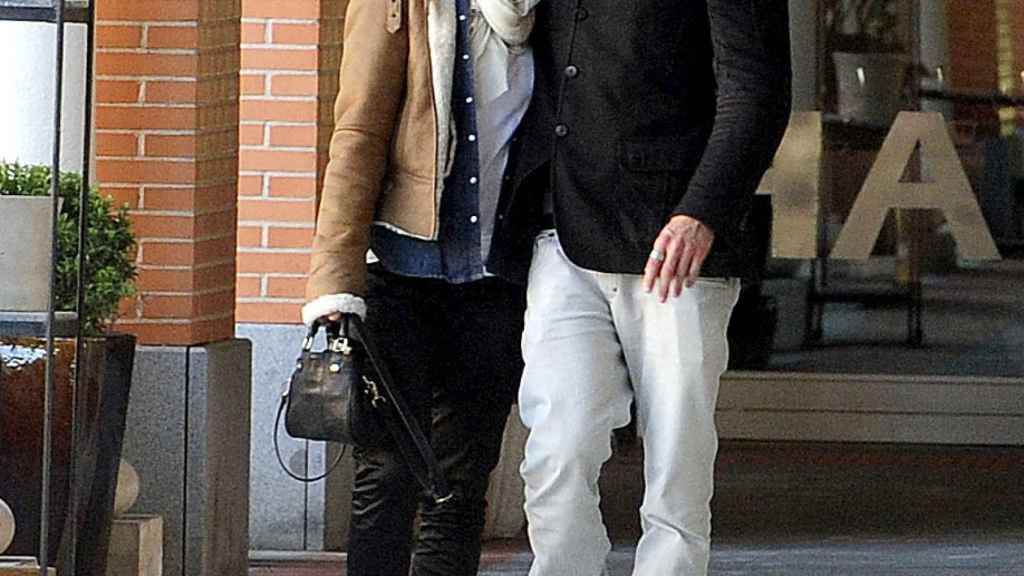 Melania y Piero en una imagen de 2010, cuando aún eran pareja.