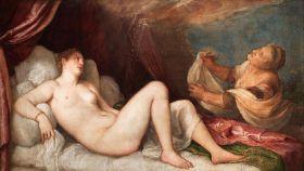 'Dánae' (1553), la primera 'poesía' de Tiziano.