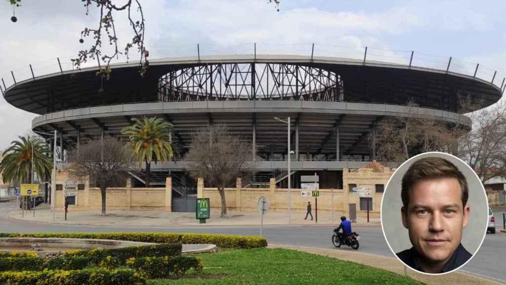 Vista de la Plaza de Toros de Xàtiva, inactiva desde que Roger Cerdà llegó a la alcaldía en 2015. EE