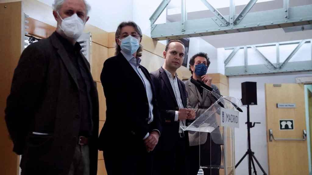 Los cuatro concejales que rompen con Más Madrid.