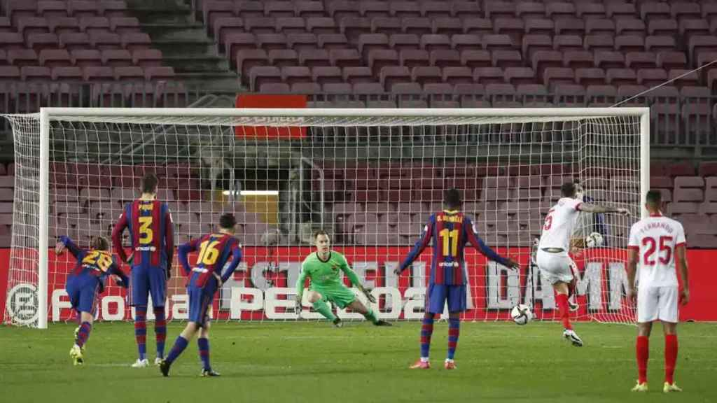 El Barça - Sevilla supera los 5 millones de espectadores en Telecinco
