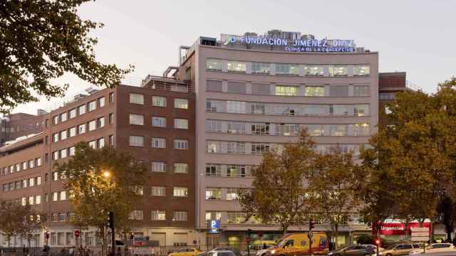 Fachada de la Fundación Jiménez Díaz.