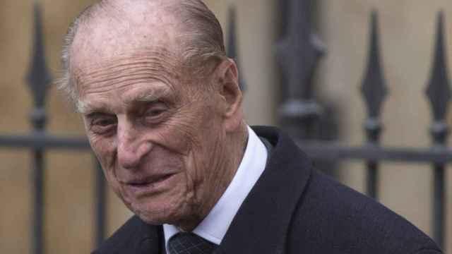 El duque de Edimburgo, durante un acto en Windsor.