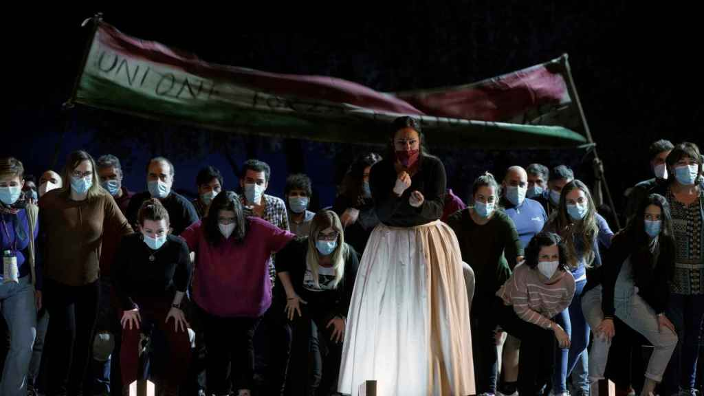 'Norma' en el Teatro Real de Madrid.