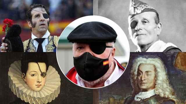 Villarejo, Padilla, Millán Astray, Ana de Mendoza y Blas de Lezo.