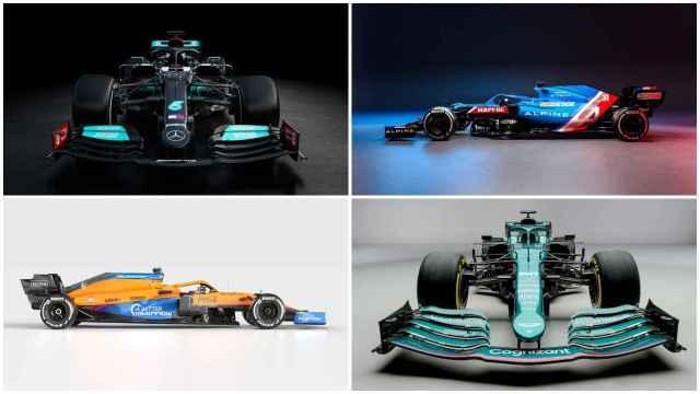 Del Alpine de Fernando Alonso al nuevo Mercedes de Hamilton: los monoplazas de Fórmula 1 para 2021