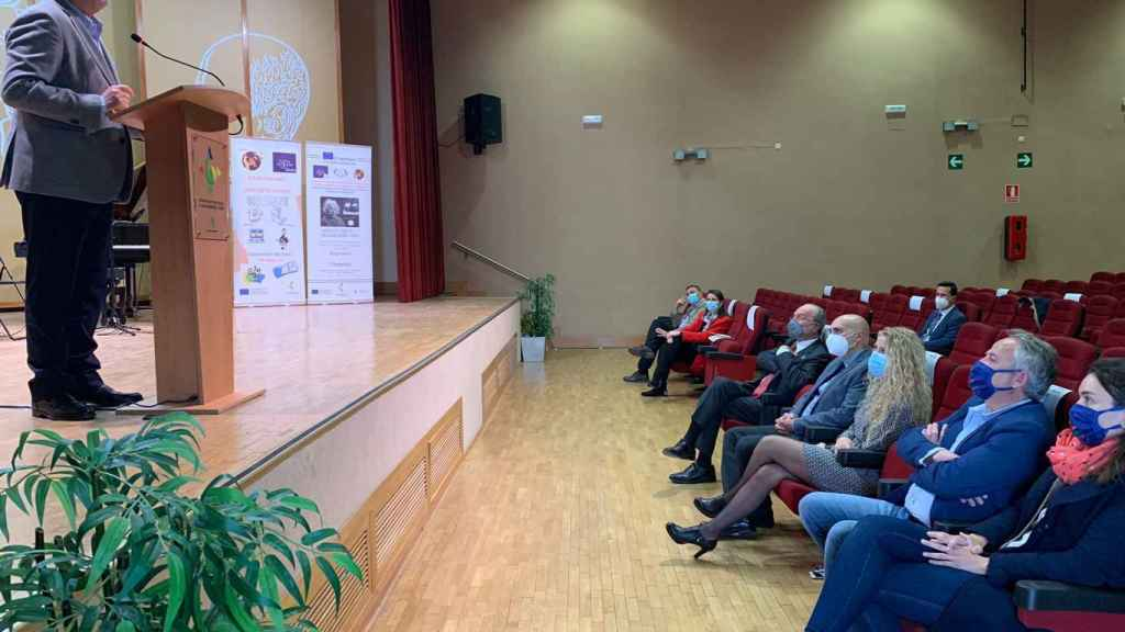 El consejero de Educación, Javier Imbroda, este jueves en Málaga