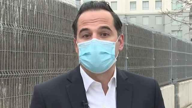Ignacio Aguado en entrevista a RTVE.