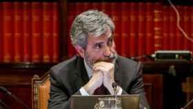 Carlos Lesmes, presidente del Poder Judicial./