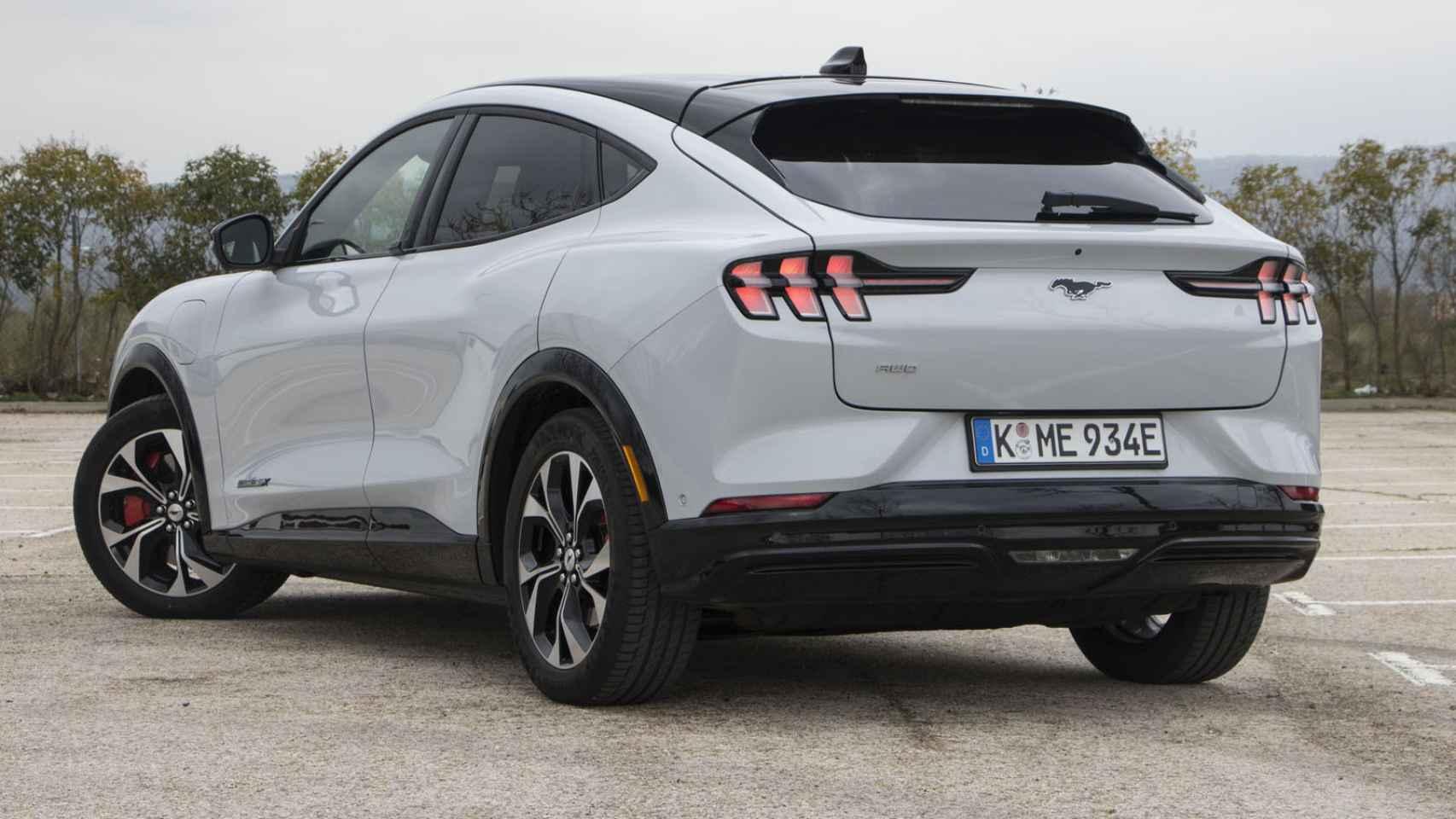 Todas las fotos del nuevo Ford Mustang Match-E, el nuevo SUV eléctrico