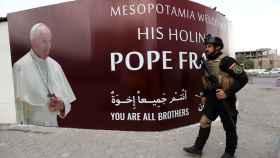 Irak se prepara para recibir al Papa. Imagen de Bagdad este 4 de marzo.