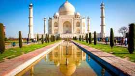 Taj Mahal, en Agra, India.