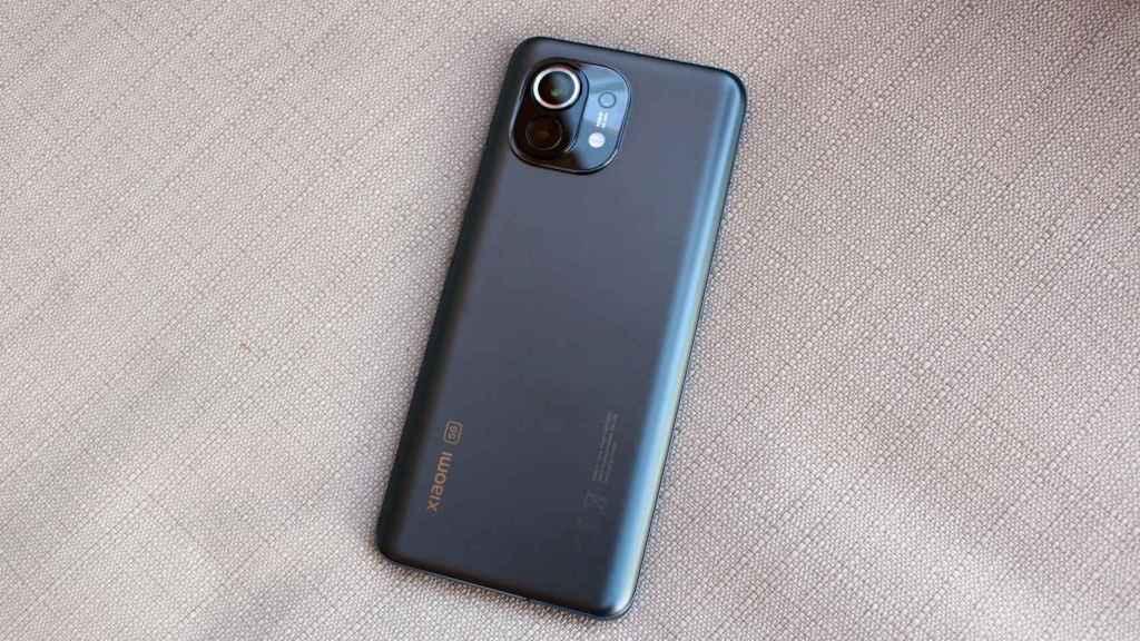 Diseño del Xiaomi Mi 11.